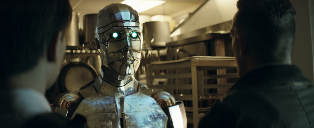 BluFire Studios animated a CG robot and composited it into plates shot in a Los Angeles diner kitchen.