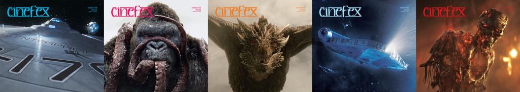 Cinefex Covers