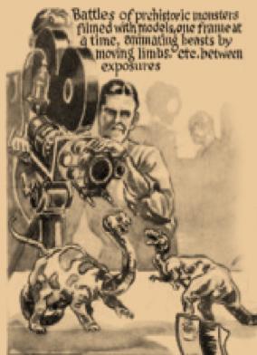 """How King Kong Was Filmed"" - Screen Book, 1933"