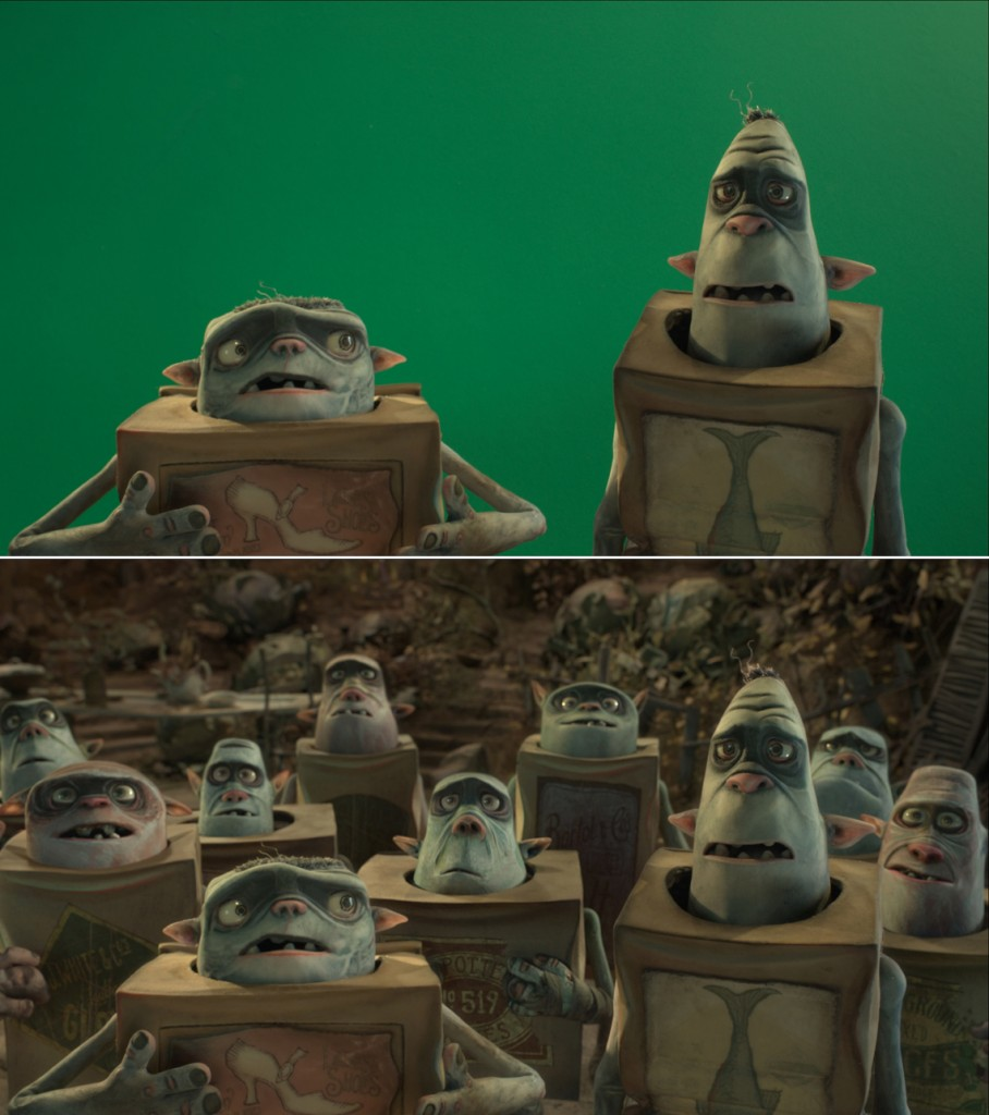 """It was critical that the CG characters in """"The Boxtrolls"""" be indistinguishable from their stop-motion counterparts."""