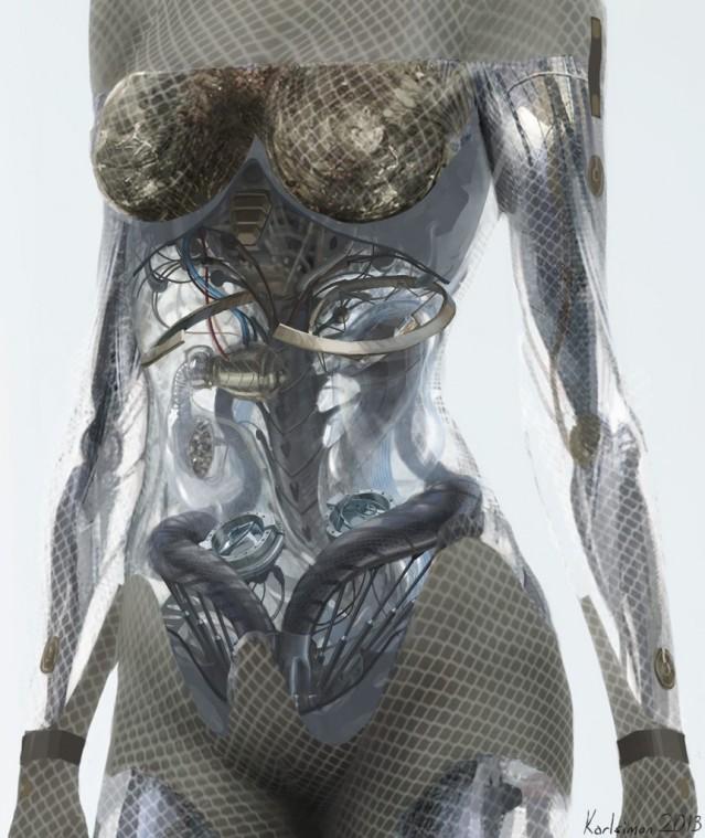 Ava concept art by Karl Simon Gustafsson.