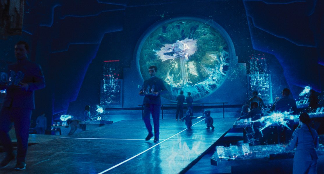 The secret subterranean realm of Haven in Artemis Fowl. Image courtesy of Framestore.