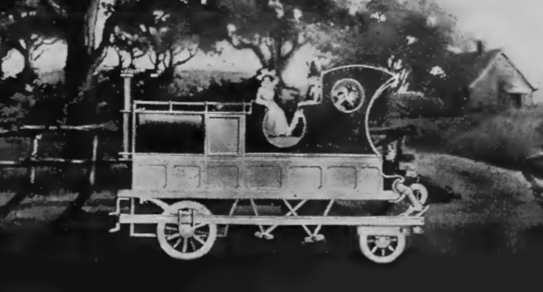 Mechanigraph of the Grass Hopper Steam Carriage by Harry Levey.