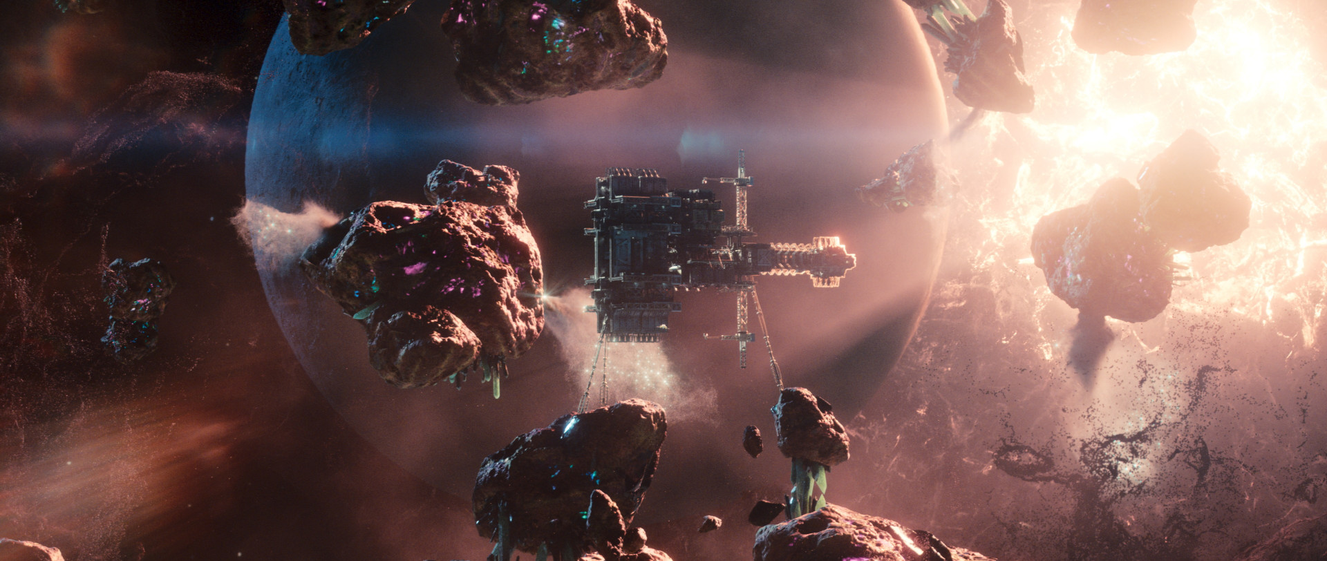 Intergalactic - visual effects by Milk