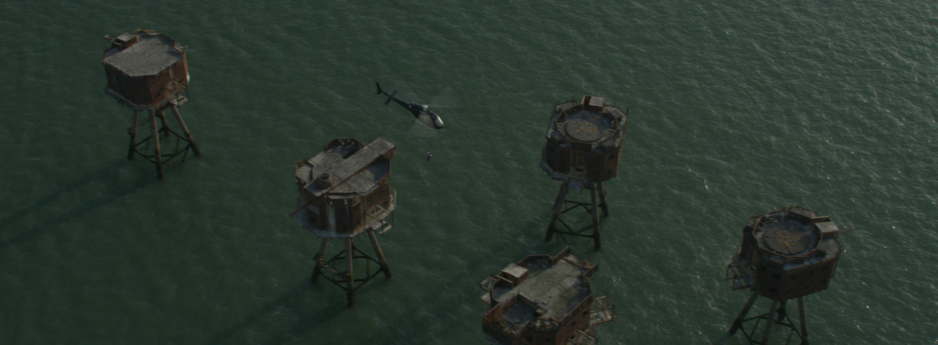 The isolated sea fortress where Mulch is held captive. Image courtesy of RISE.