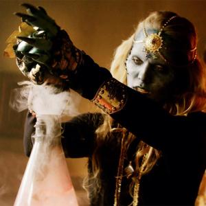 Danielle Chuchran as the demon Cornelia