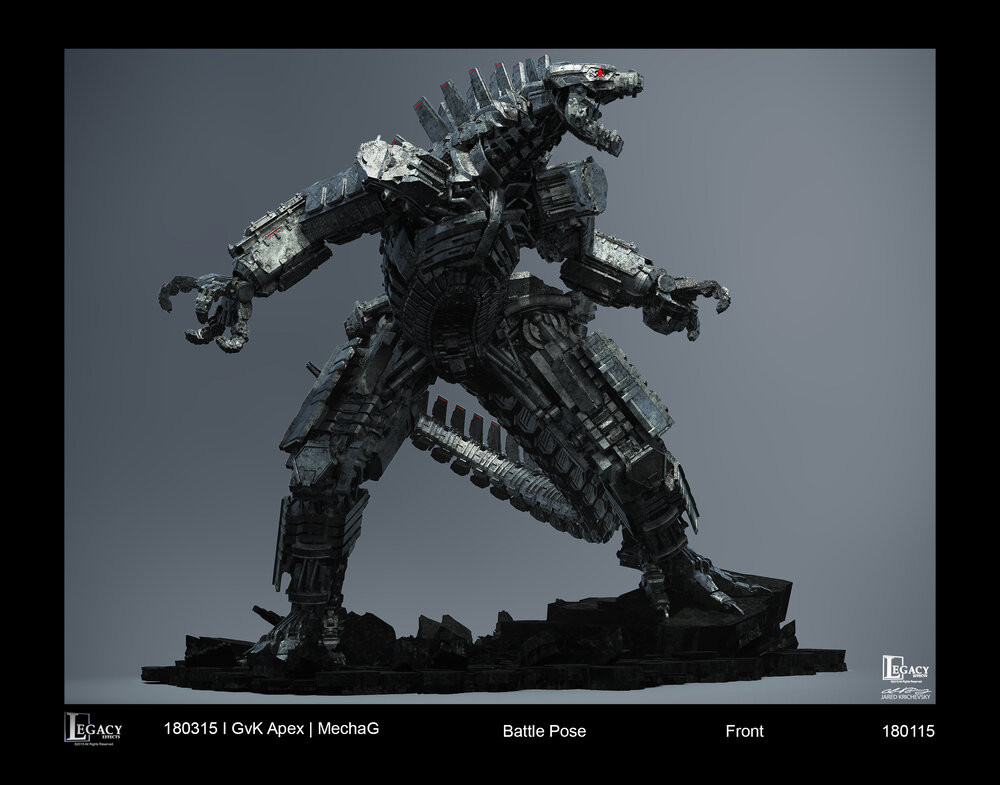 Godzilla vs Kong - Mechagodzilla concept design by Legacy Effects