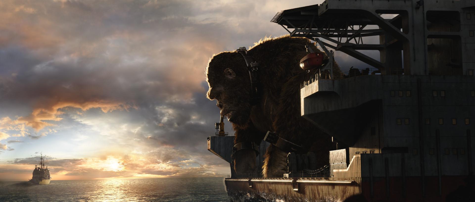 Godzilla vs Kong - visual effects by Scanline VFX