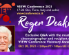 Roger Deakins at VIEW Conference 2021
